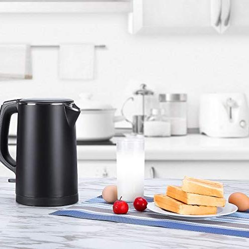 Kettle Cool Touch Tea Kettle Double Wall,