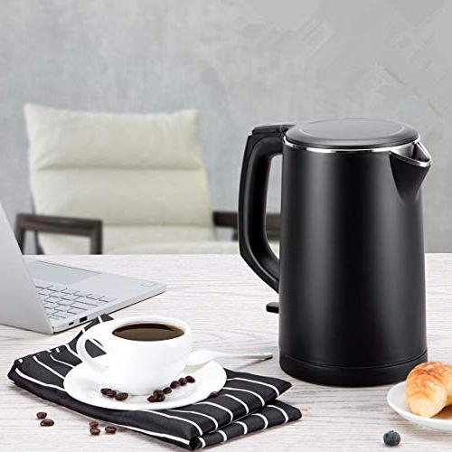 Electric Kettle Touch Kettle Double Wall,