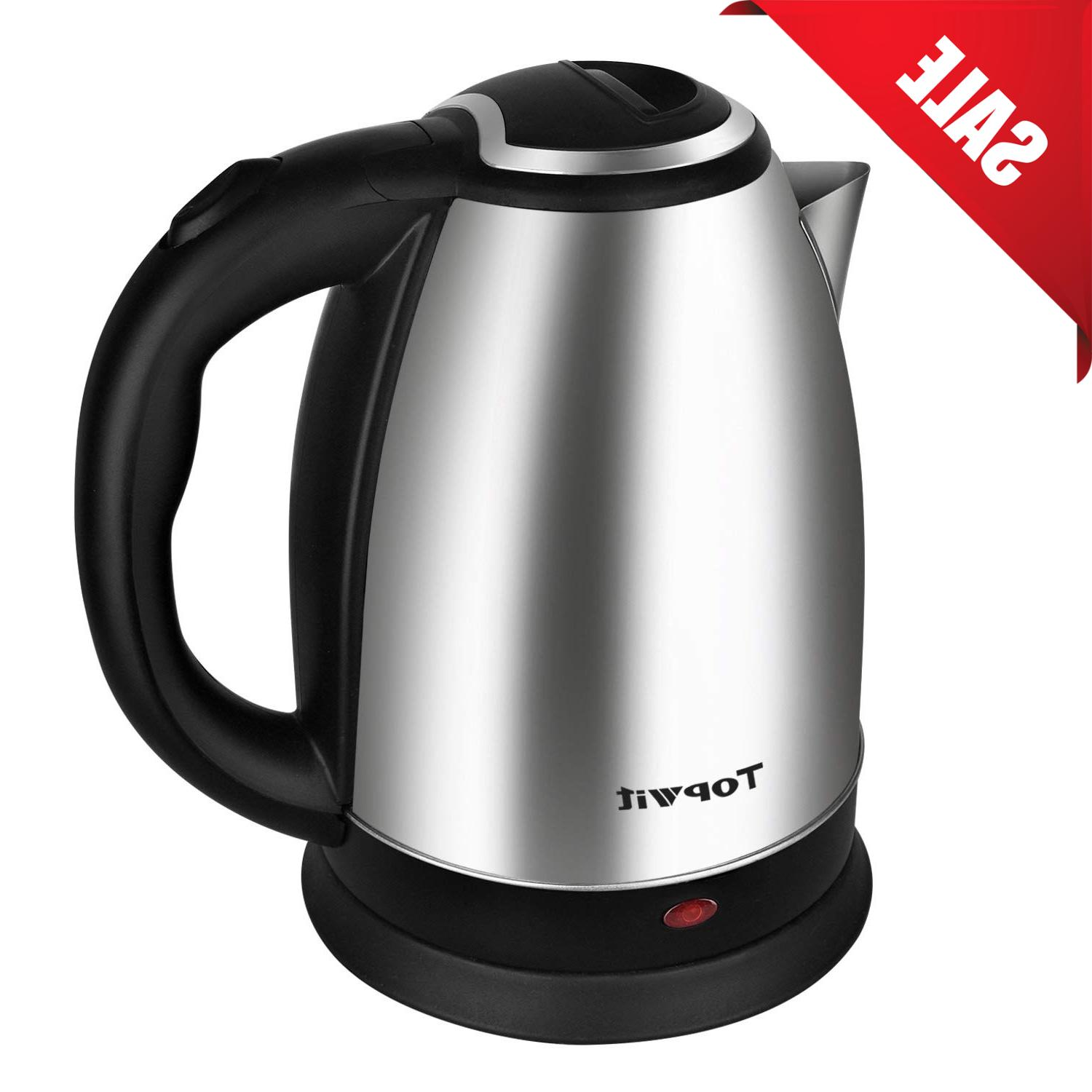 electric tea kettle stainless steel hot water