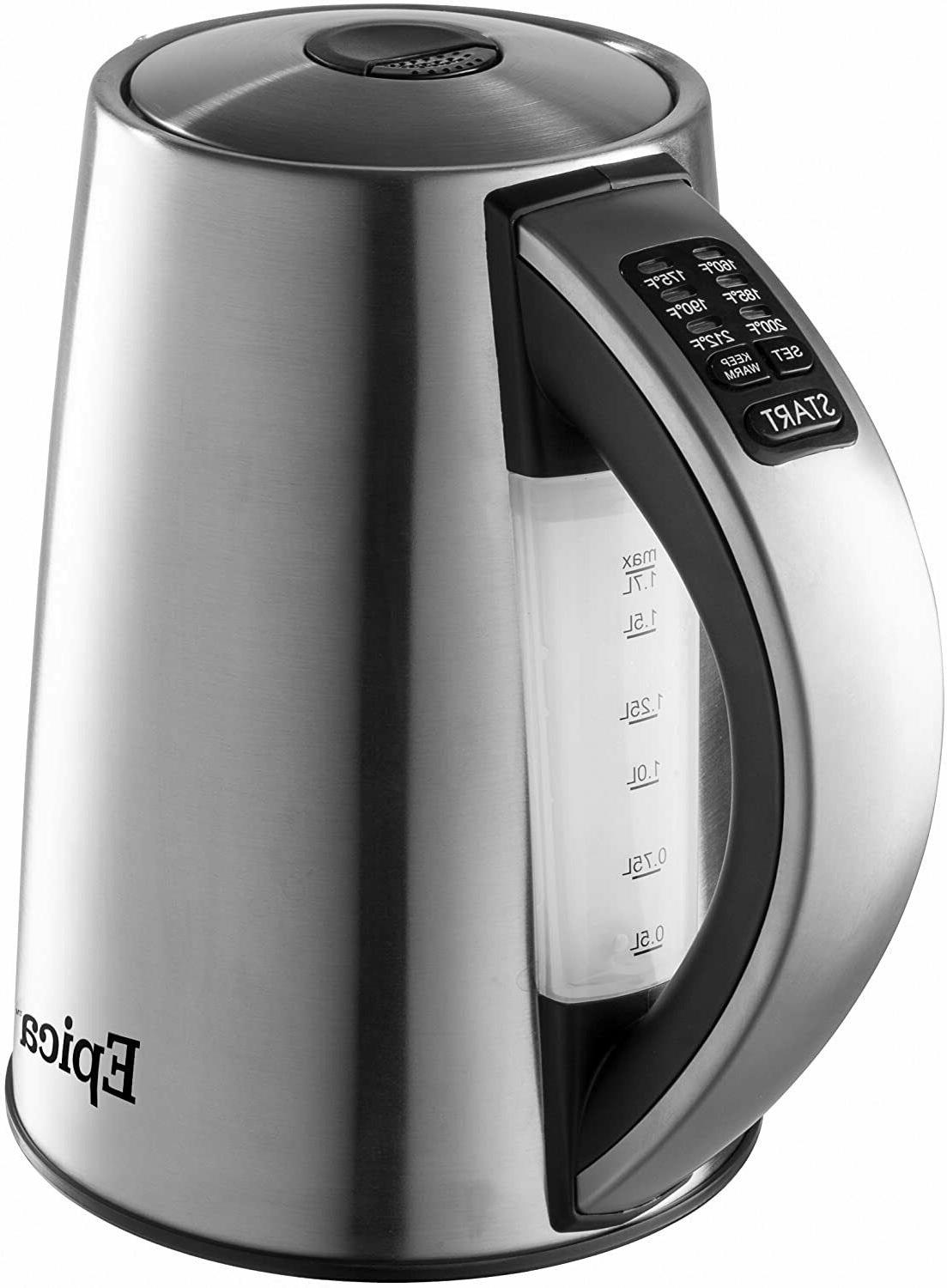 Epica 6-Temperature Variable Stainless Steel Cordless Electr