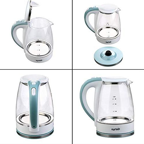 Gohyo 1.8-Liter 1500W Kettle, for Fast Hot Water Auto Boil-Dry FDA BPA-Free