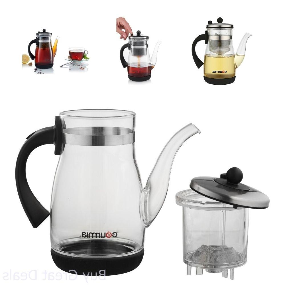 gtp9815 tea coffee pot glass