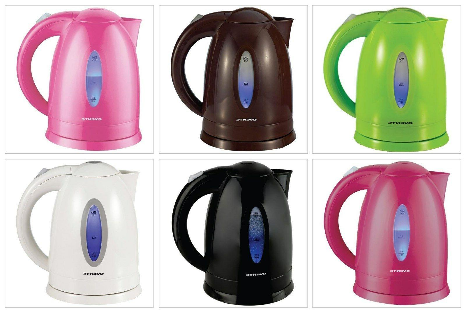 Ovente Glass Tea Kettle Water Boiller