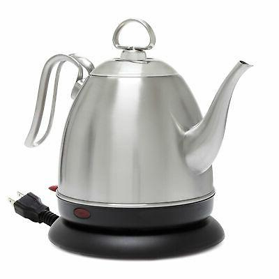mia ekettle 1 qt stainless steel electric