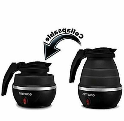 new collapsible electric tea kettle with boil
