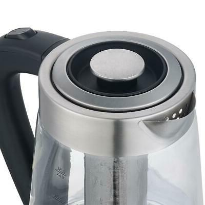New Electric Hot Kettle Tea Silver