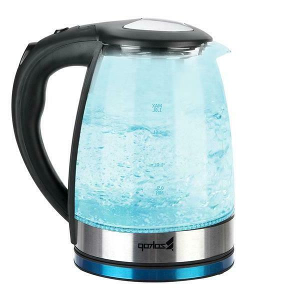 ZOKOP Auto 1.8L 7 Color Stainless Kettle