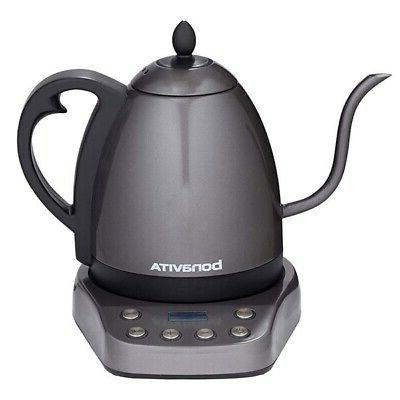 New Bonavita Interurban Stainless Steel 1L Temperature Kettle