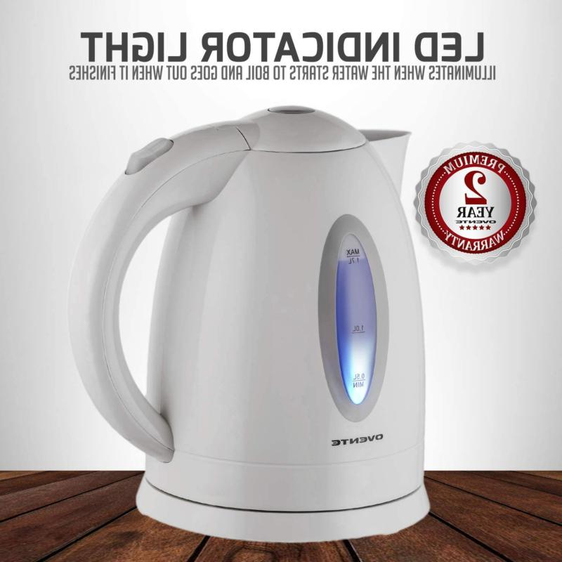 Ovente Kettle, Heating Cordless Water