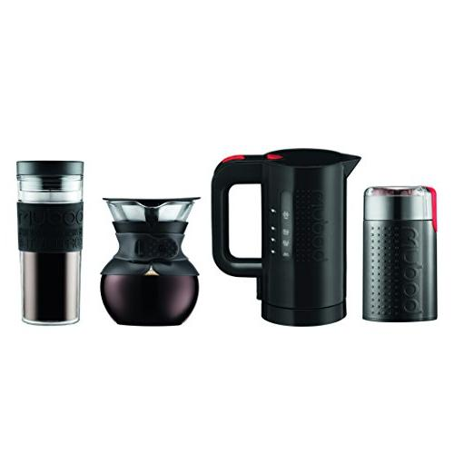 Bodum Pour Over Coffee Lovers Kit - 4 Pc