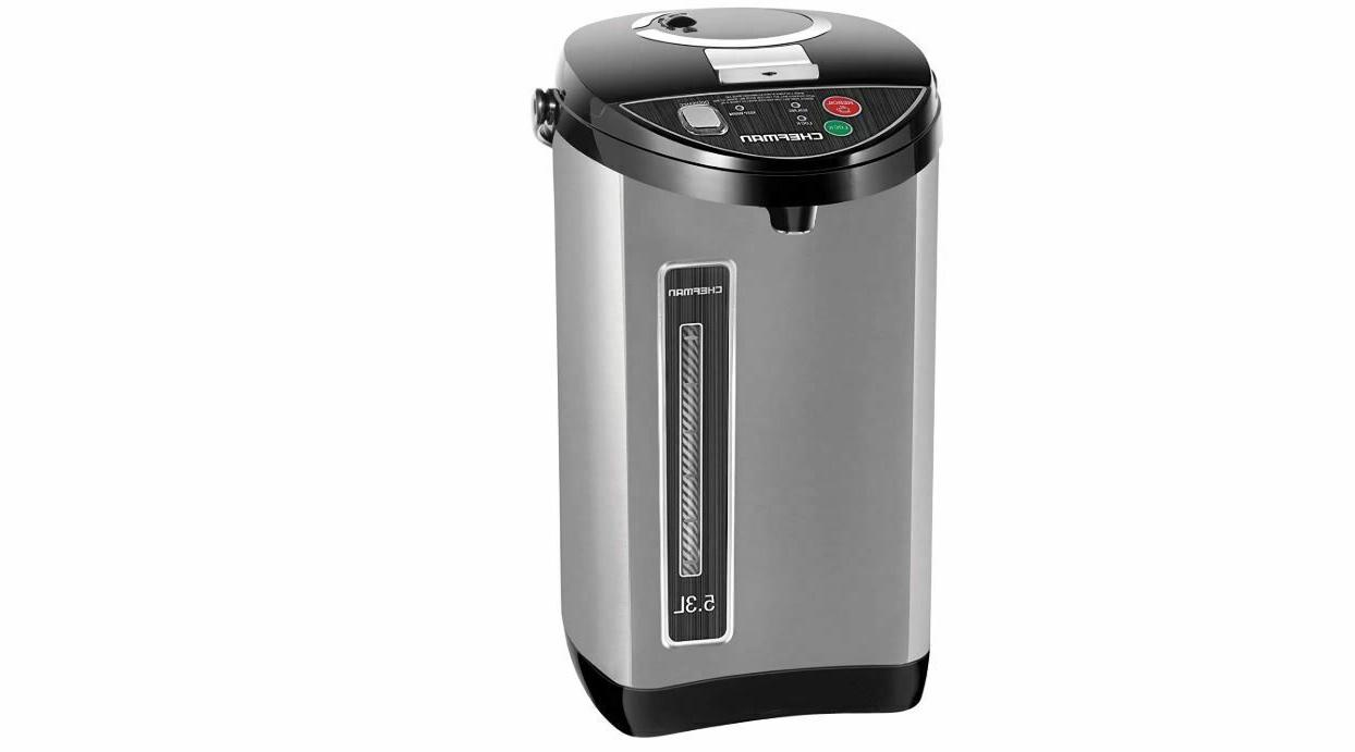Chefman RJ16-SS 5.3L Instant Electric Hot Water Pot