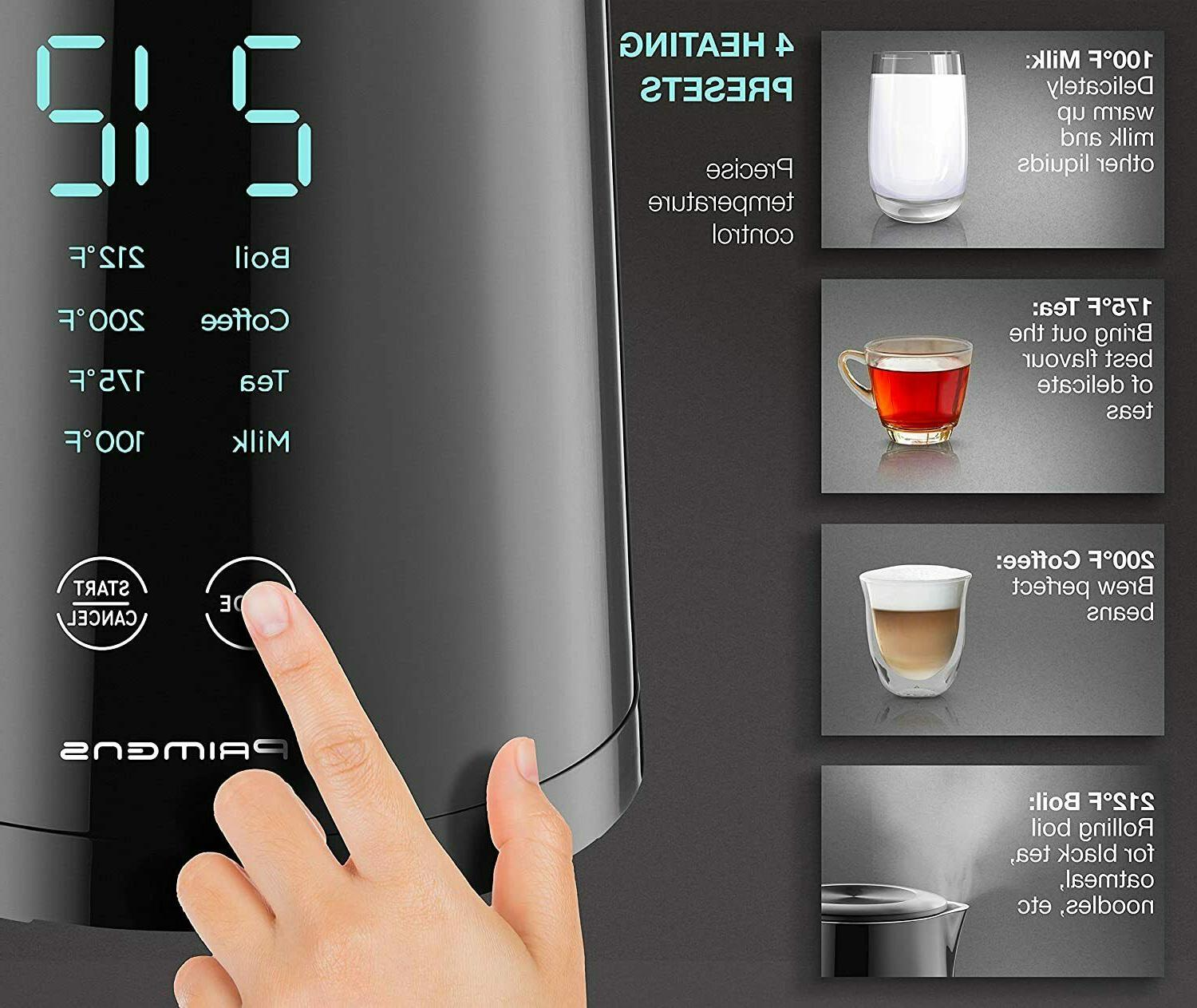 Smart Electric Kettle Temperature Display -