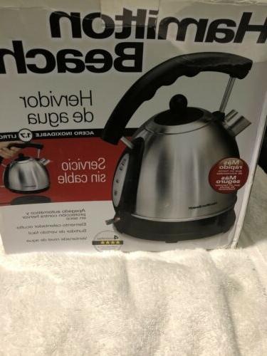 stainless electric kettle 40893