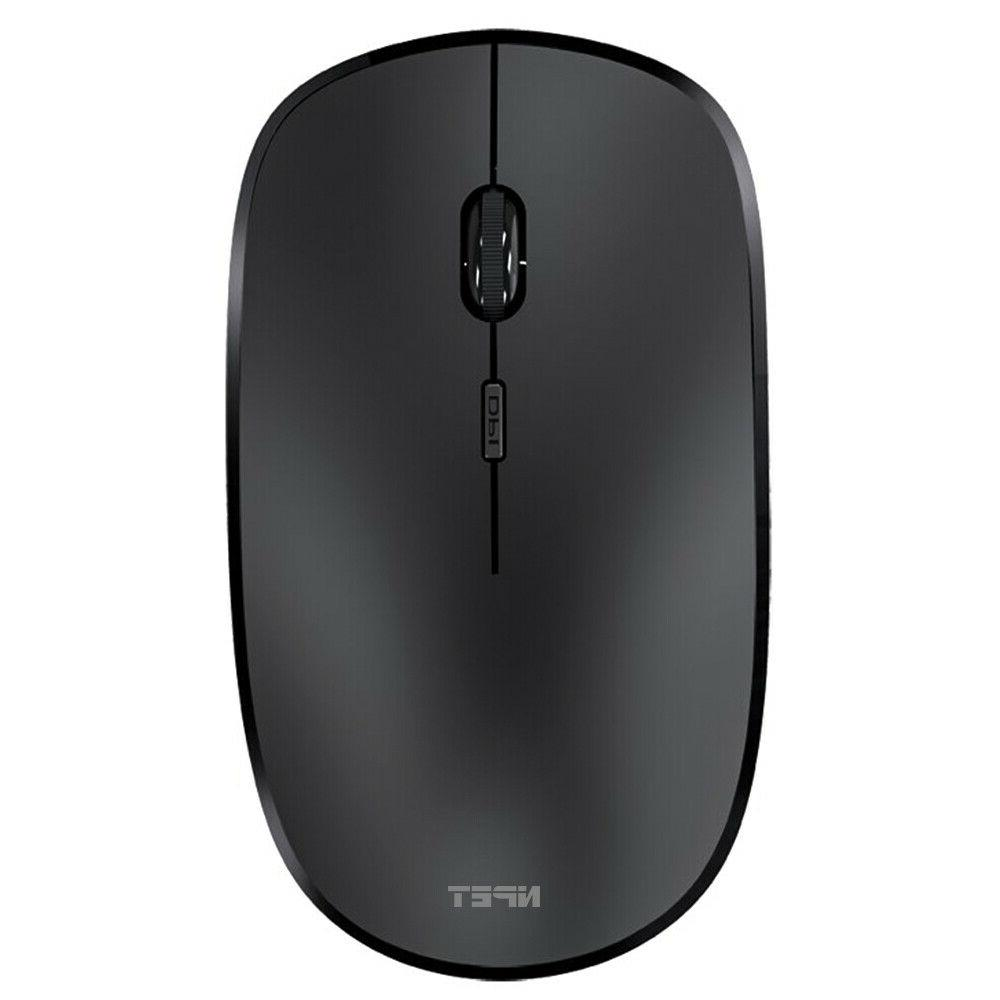 Rechargeable Optical Mouse Mice Receiver Laptop