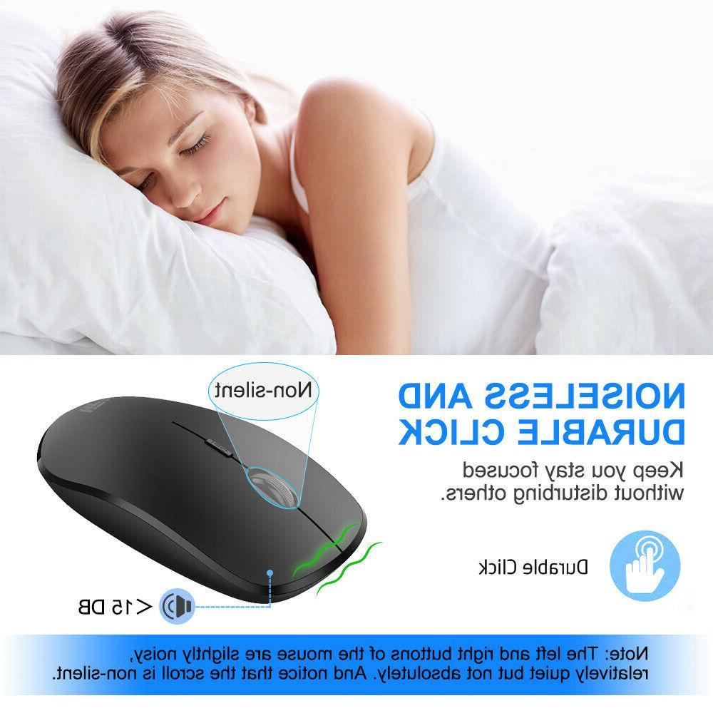 Rechargeable 2400DPI Optical Mouse