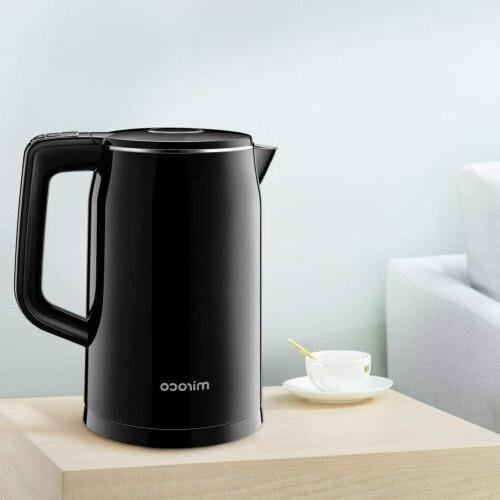 1 7l double wall electric kettle temperature