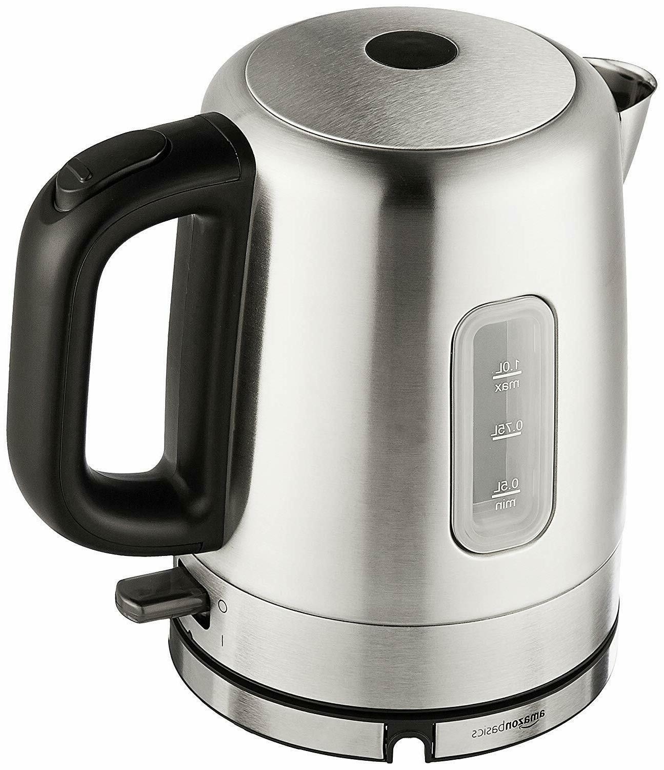 amazonbasics stainless steel porrtable electric hot water