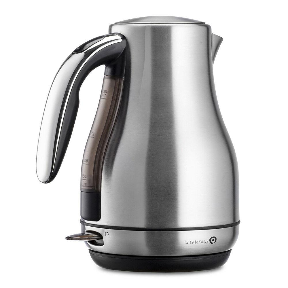 PureMate Stainless Boil Kettle 1.7 Litre