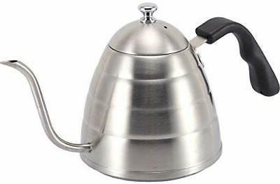 Stainless Coffee/Tea Hot Kettle Stovetop Silver