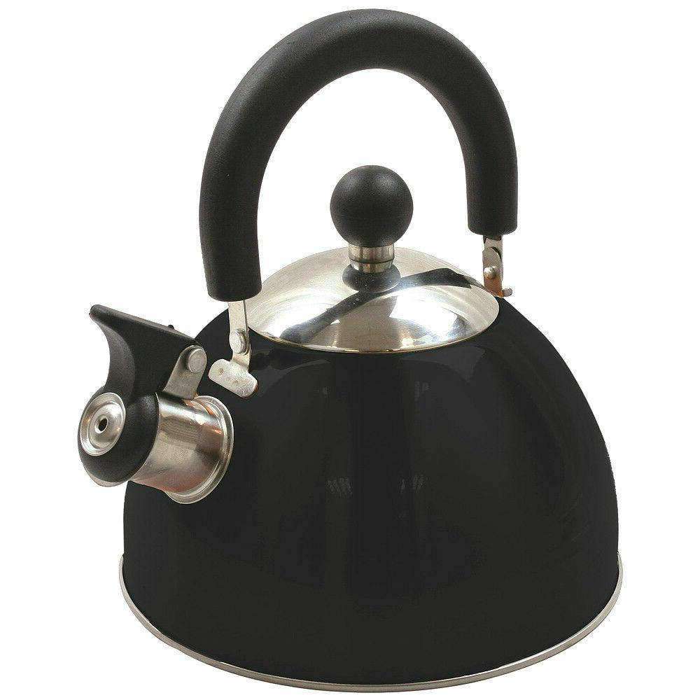 stainless steel whistling kettle 2 5qt 2