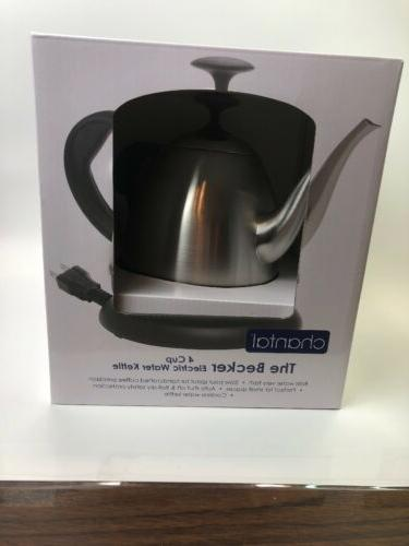 the becker 4 cup electric water kettle