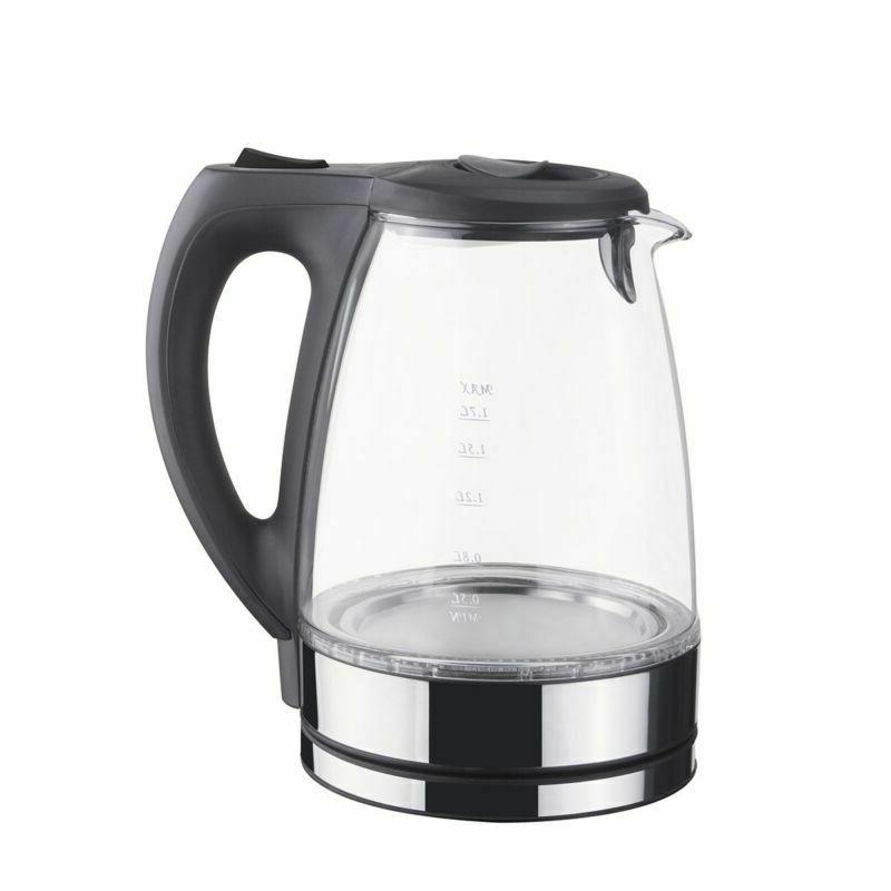 Electric Pot Hot Water Fast Boiling 1.7L Light US