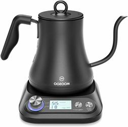MOOSOO Electric Gooseneck Kettle with Variable Temperature C