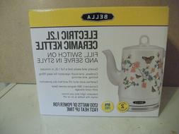 NEW IN BOX Bella 1.2L Butterfly Meadow 1200W Electric Cerami
