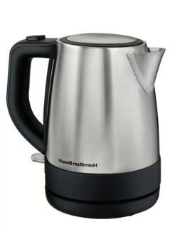 New In Box! Hamilton Beach 1 Liter Stainless Steel Electric