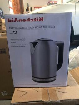 New In Box KitchenAid Stainless Steel 1.7 Liter Electric Ket