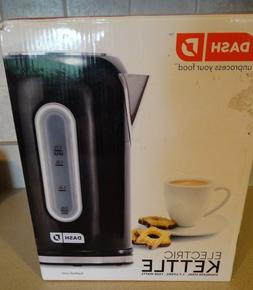 NIB Dash Electric Kettle, Stainless Steel, Tea, Water,7 1/2