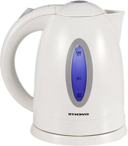 Ovente 1.7L BPA-Free Electric Kettle, Fast Heating Cordless