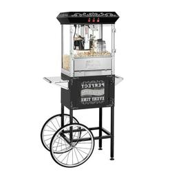 Great Northern 10 oz. Perfect Popper Machine with Cart - Bla