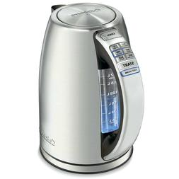 Cuisinart PerfecTemp Cordless Programmable Kettle New Silver