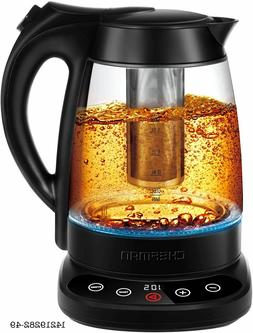 Chefman Programmable Electric Kettle Digital Display Removab