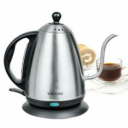 1.2 Liter Stainless Steel Gooseneck Electric Water Kettle fo