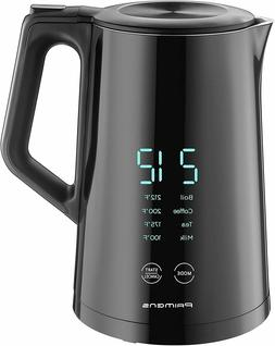 smart electric kettle variable temperature control led