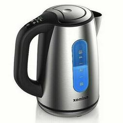 stainless cordless electric hot water kettle model