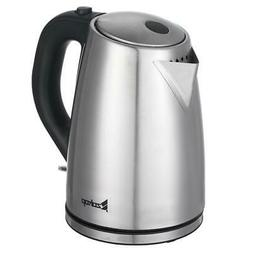 Stainless Steel 1.8L 1500W Electric Auto-off Tea Kettle Hot