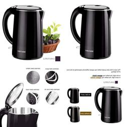 Secura Stainless Steel Double Wall Electric Water Kettle 1.8