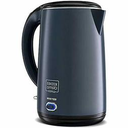 "Stainless Steel Double-Walled Electric Kettle  Kitchen "" Din"