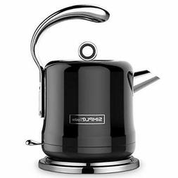 SIMPLETASTE Stainless Steel Electric Kettle 1.2L Fast Heatin