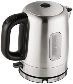 AmazonBasics Stainless Steel Electric Kettle, Automatic Shut