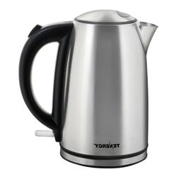Tenergy Stainless Steel Electric Kettle 1.7L 1500W Fast Boil
