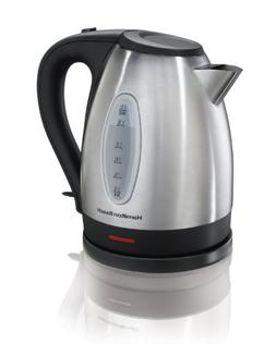 Hamilton Beach Stainless Steel 1.7 Liter Electric Kettle