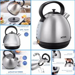 Aicok Stainless Steel Electric Kettle LARGE 1.7L KE5502