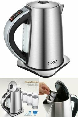 ELECTRIC WATER KETTLE TEAPOT CORDLESS Temperature Control St
