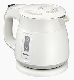 Tiger thermos electric kettle 600ml white Wakuko PCF-G060-W