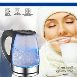 usa electric glass kettle coffee hot water