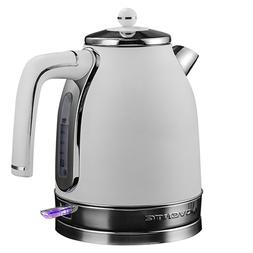Ovente Electric Water Kettle 1.7L Premium Matte Stainless 15